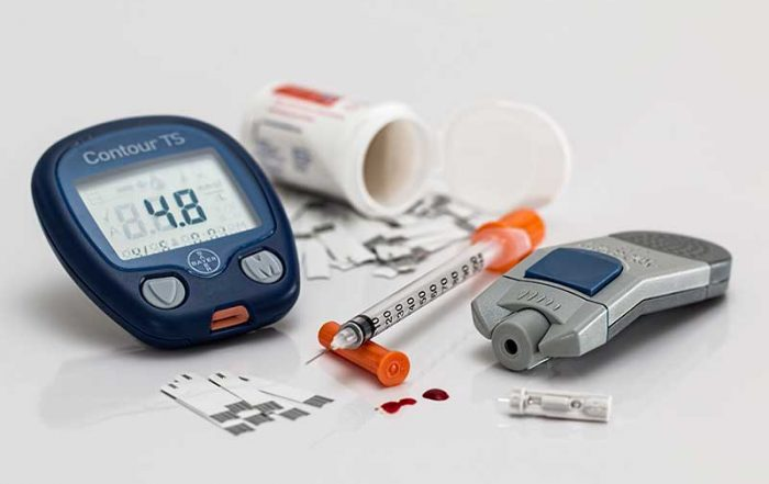 Blood sugar testing supplies